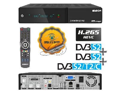 OS MEGA DVB-S2 + DVB-S2 + DVB-S2/T2/C