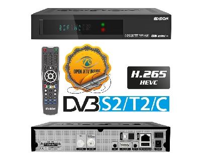 OS MINI + DVB-S2/T2/C