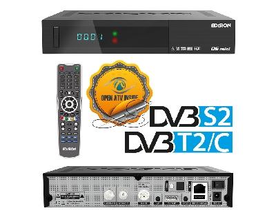 OS MINI DVB-S2 + DVB-T2/C