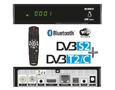 OS NINO DVB-S2 + DVB-T2/C