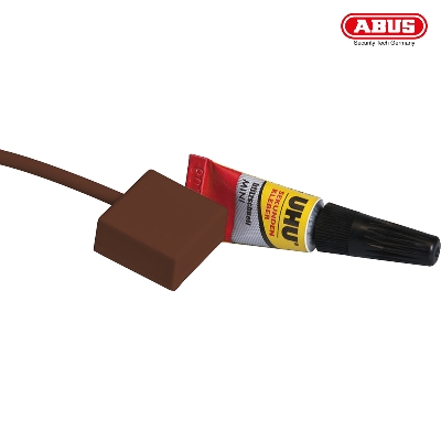 FU7301B Potential-free Glass Breakage Detector with Adhesive (brown)