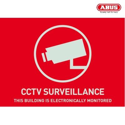 AU1312 Warning Sticker CCTV Surveillance 148 x 105mm