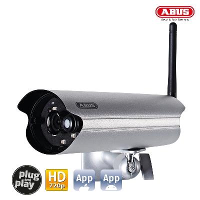 TVAC19100B WLAN Outdoor Camera & App