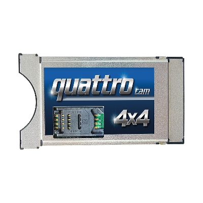 PCMCIA Quattro Cam
