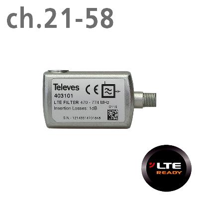 403101 ΦΙΛΤΡΟ LTE (ch.21-58) F