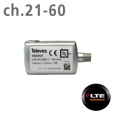 403401 ΦΙΛΤΡΟ LTE (ch.21-60) F