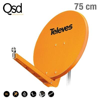 7902 ΚΑΤΟΠΤΡΟ QSD 75 ALU πορτοκαλί