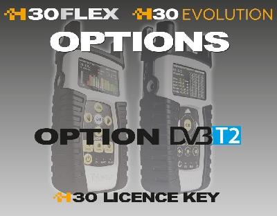 593232 Option DVB-T2 for H30FLEX (απο DVB-T)
