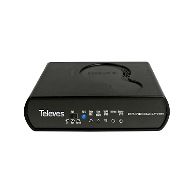 769301 CoaxData 1Gbps-HDTV COAXIAL 4xETH + WIFI