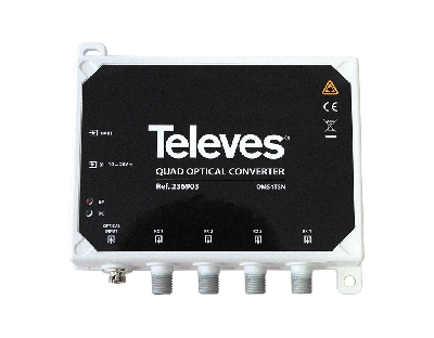 236903 Optical Converter Quad MDU/TDT