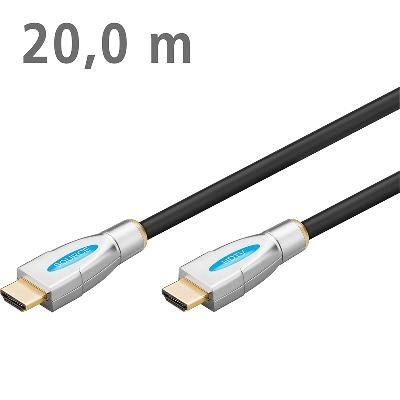 31971 ΚΑΛΩΔΙΟ HDMI ETHERNET ΕΠΙΧΡΥΣΟ 20.0m ACTIVE