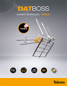 The brand new TELEVES DAT-45 T-FORCE LTE DTT antenna!